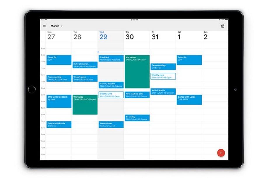 Google Calendar: Download now on iPad
