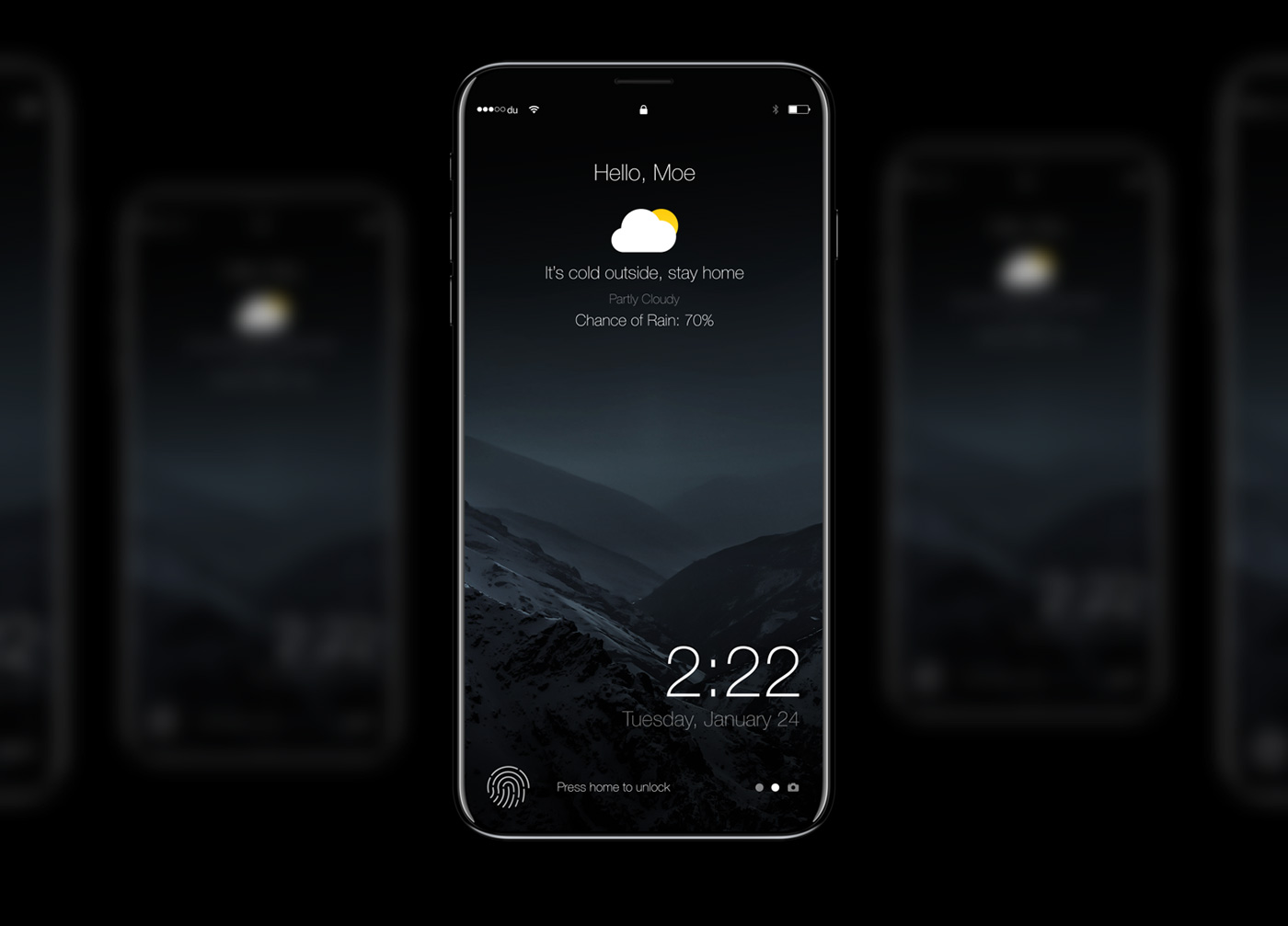 iPhone 8 Features Touch ID Sensor