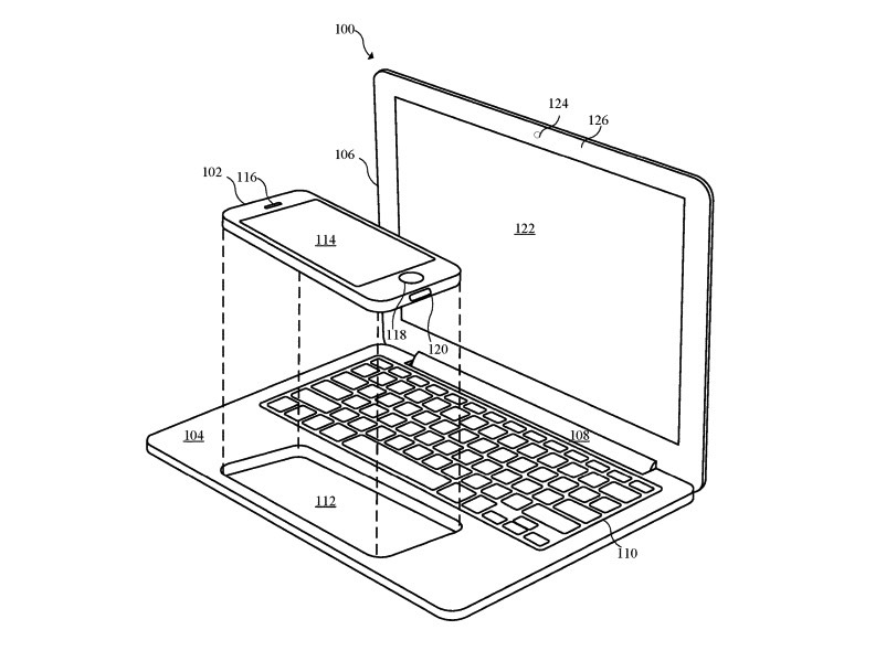Apple patent turns iPhone into a full-blown laptop