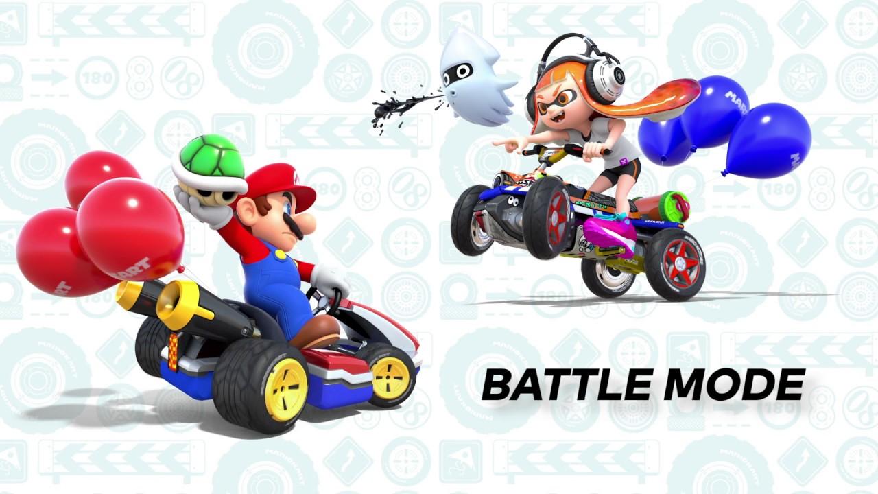 Mario Kart 8 Deluxe gameplay video