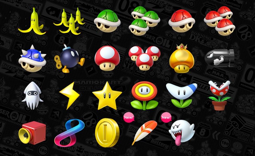 Resultado de imagen de mario kart 8 deluxe all characters