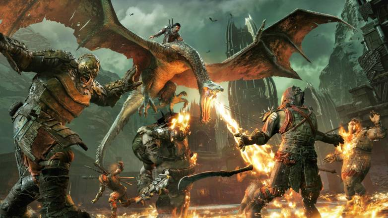 Middle-earth: Shadow of War gameplay video