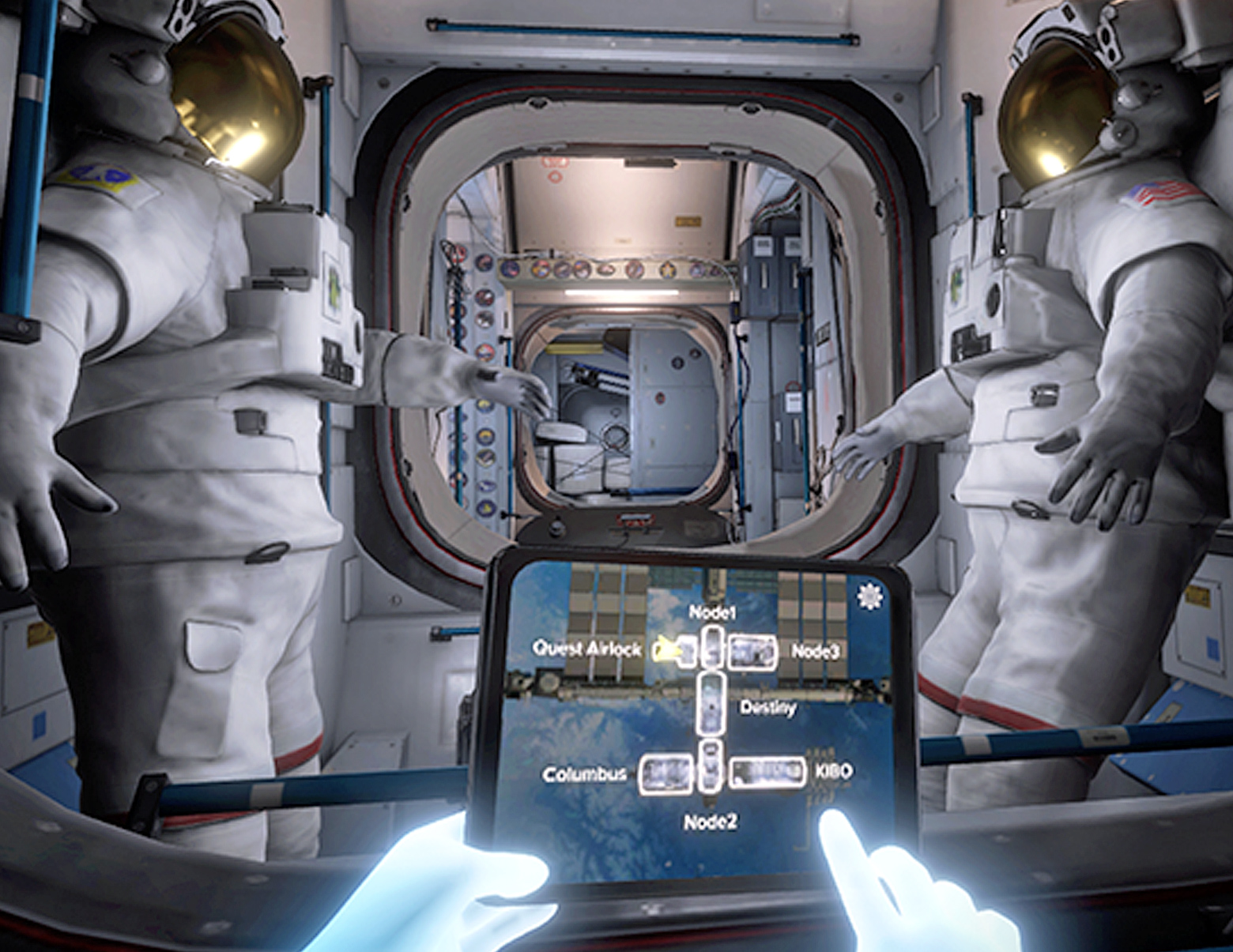 This International Space Station simulator for VR will ...