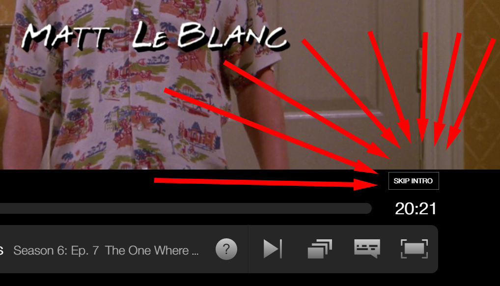 New Netflix button lets viewers skip the intros on some shows class=