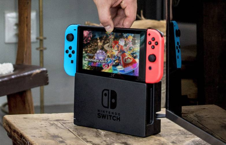 Nintendo Switch warping