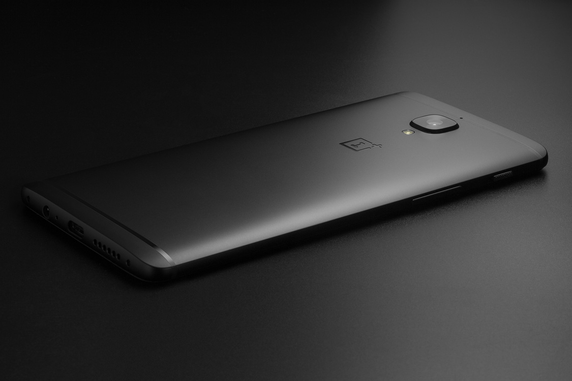 OnePlus 3T Midnight Black design