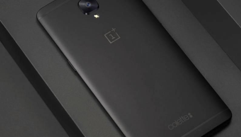 OnePlus 3T Black Colette Edition