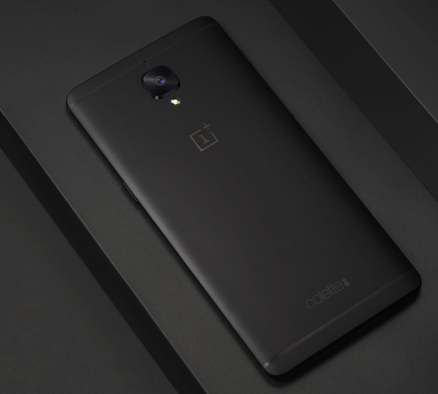 OnePlus 3T Black Colette Edition