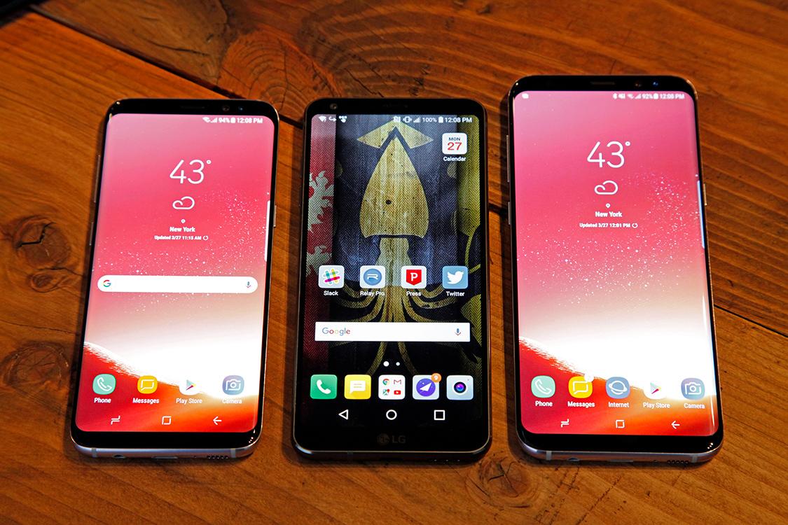 Galaxy S8 vs. LG G6 Speed Test