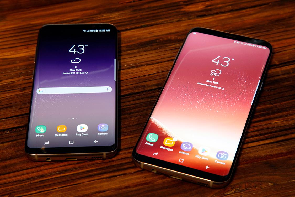 Galaxy S9 vs. Galaxy S8