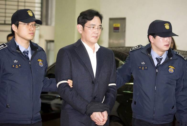 Samsung Boss Jay Y. Lee Convicted