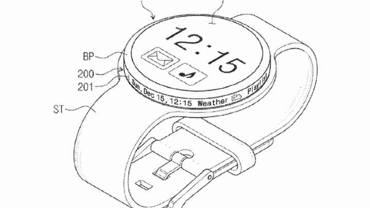 samsung smartwatch patent