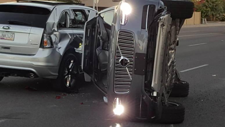 Uber self-driving car crash