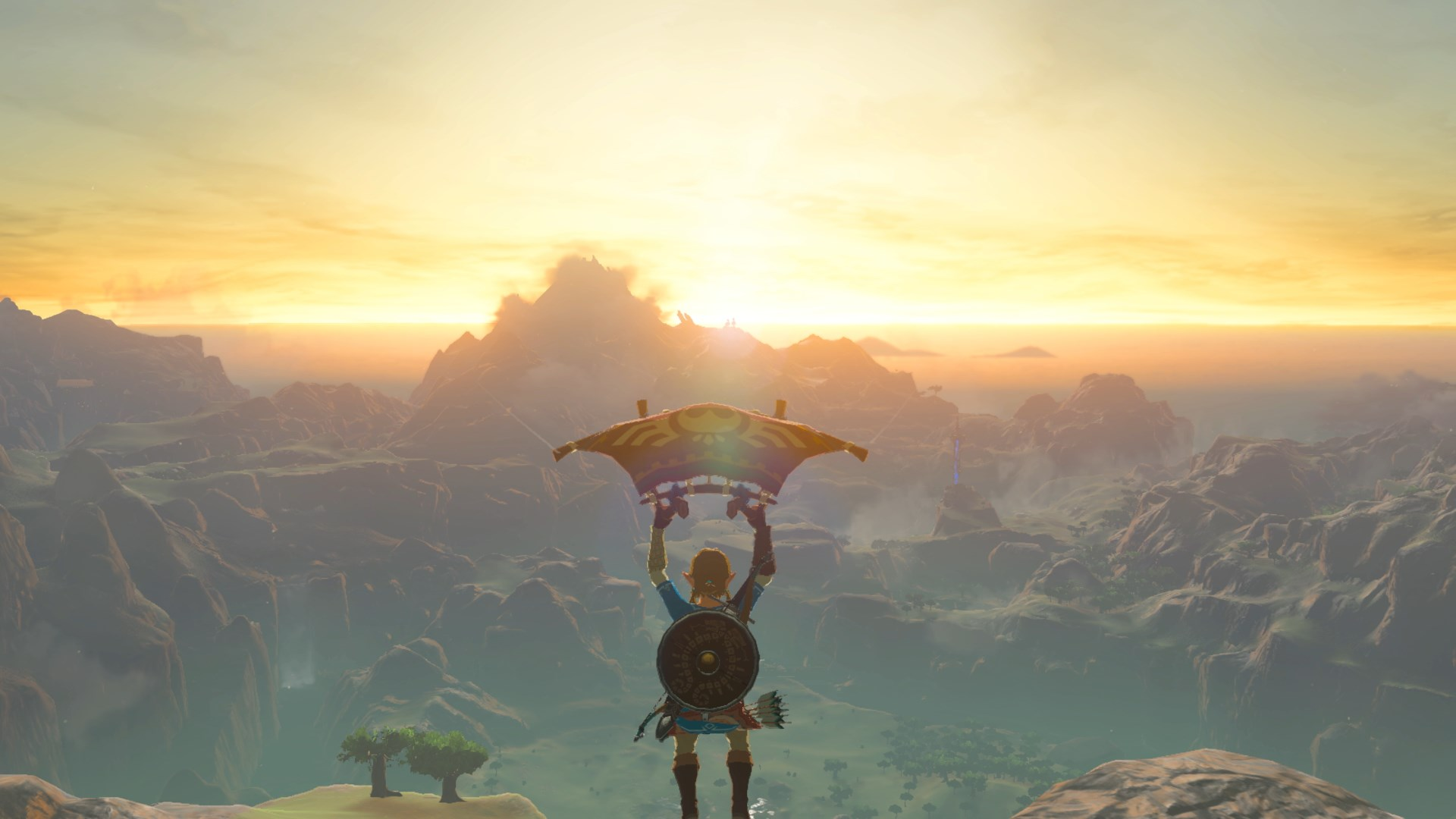 Watch A Zelda Breath Of The Wild Player Glide Over The Whole Map In 20 Minutes Bgr