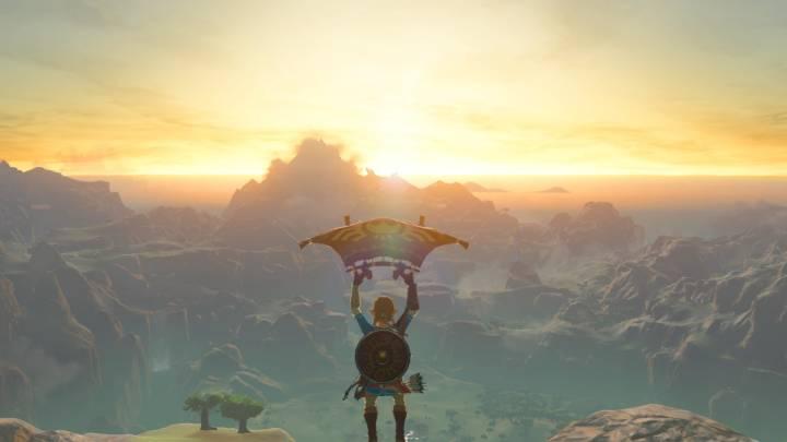 Zelda: Breath of the Wild paragliding challenge
