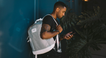 Kickstarter charging backpack