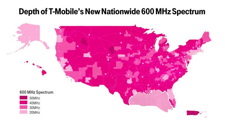 FCC spectrum auction: T-Mobile