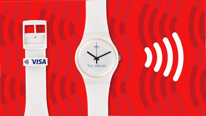 Apple vs. Swatch Tick Different