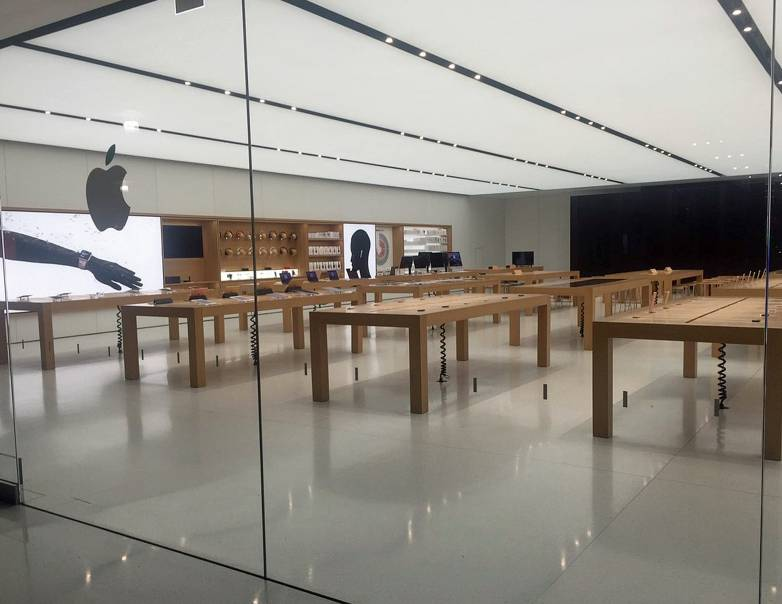 apple store robbed