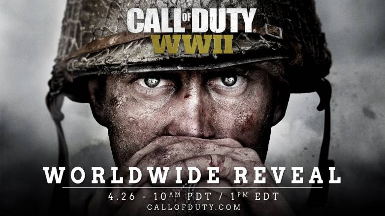 Call of Duty: WWII live stream reveal