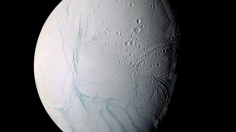 enceladus moon ice