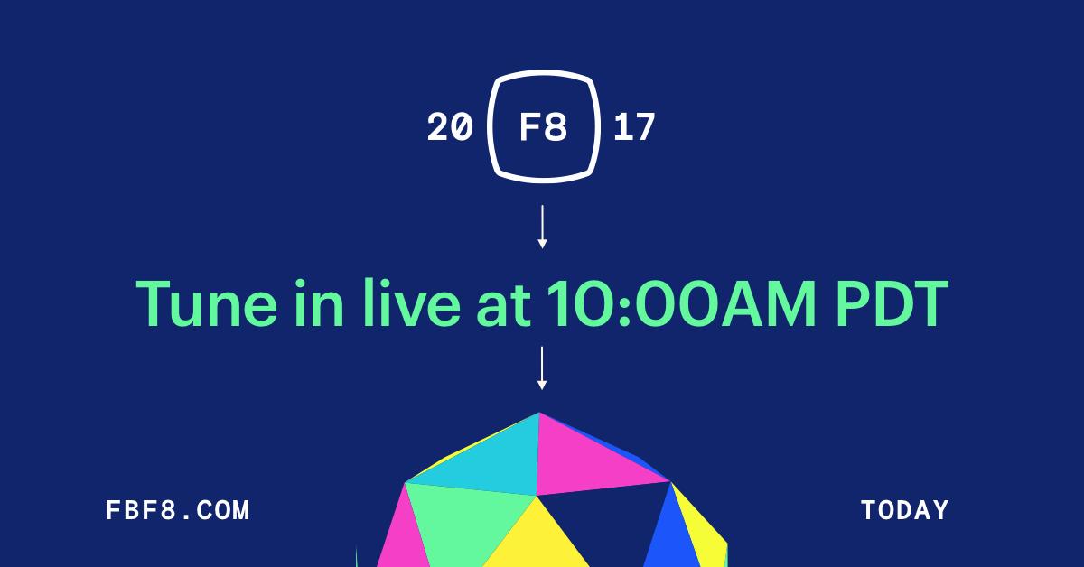 Facebook F8 2017 live stream