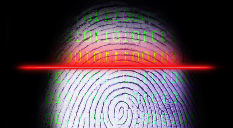 Laptop Fingerprint Reader