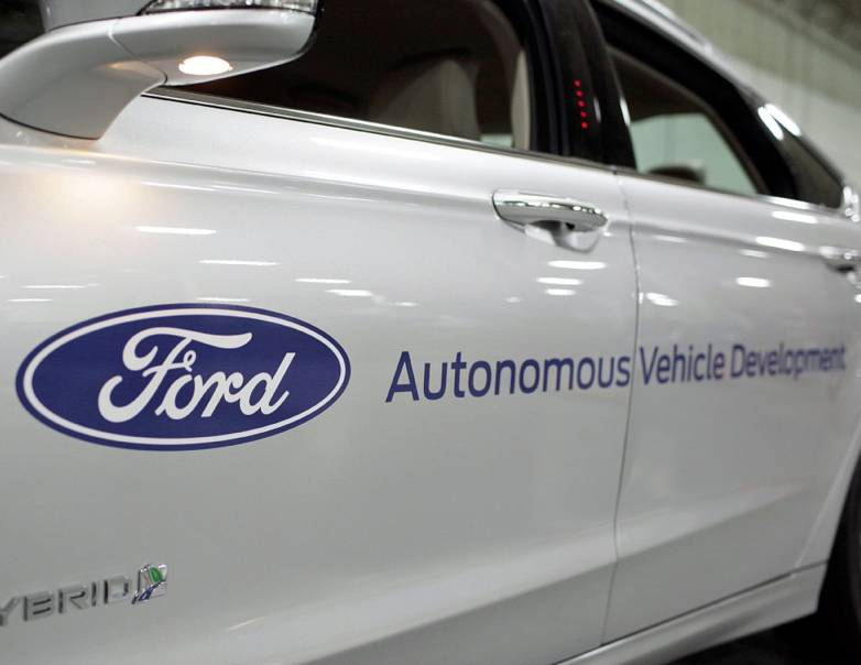 Ford self-driving car release date