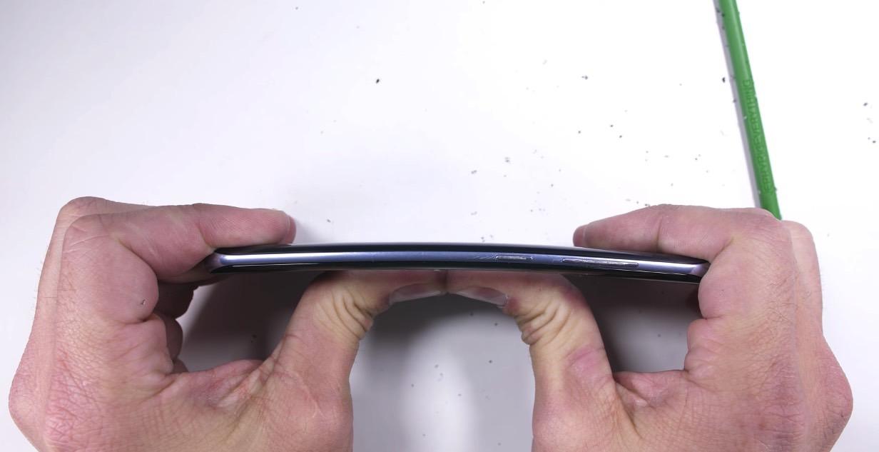 Galaxy S8 Durability Bend