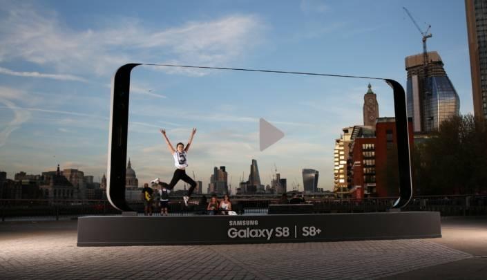 Galaxy S8 vs. iPhone 8