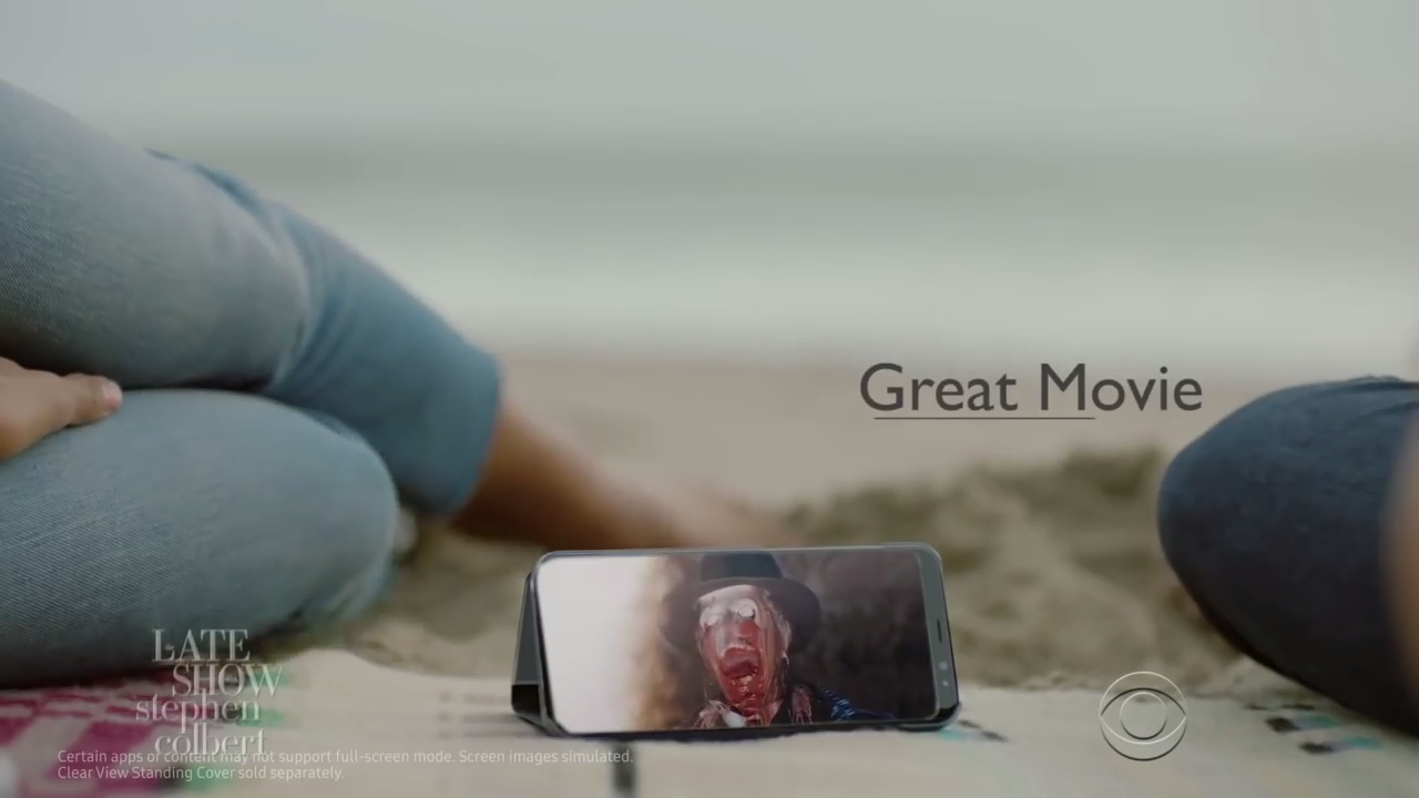Colbert Roasts Samsung with Hilarious Galaxy S8 Commercial Parody