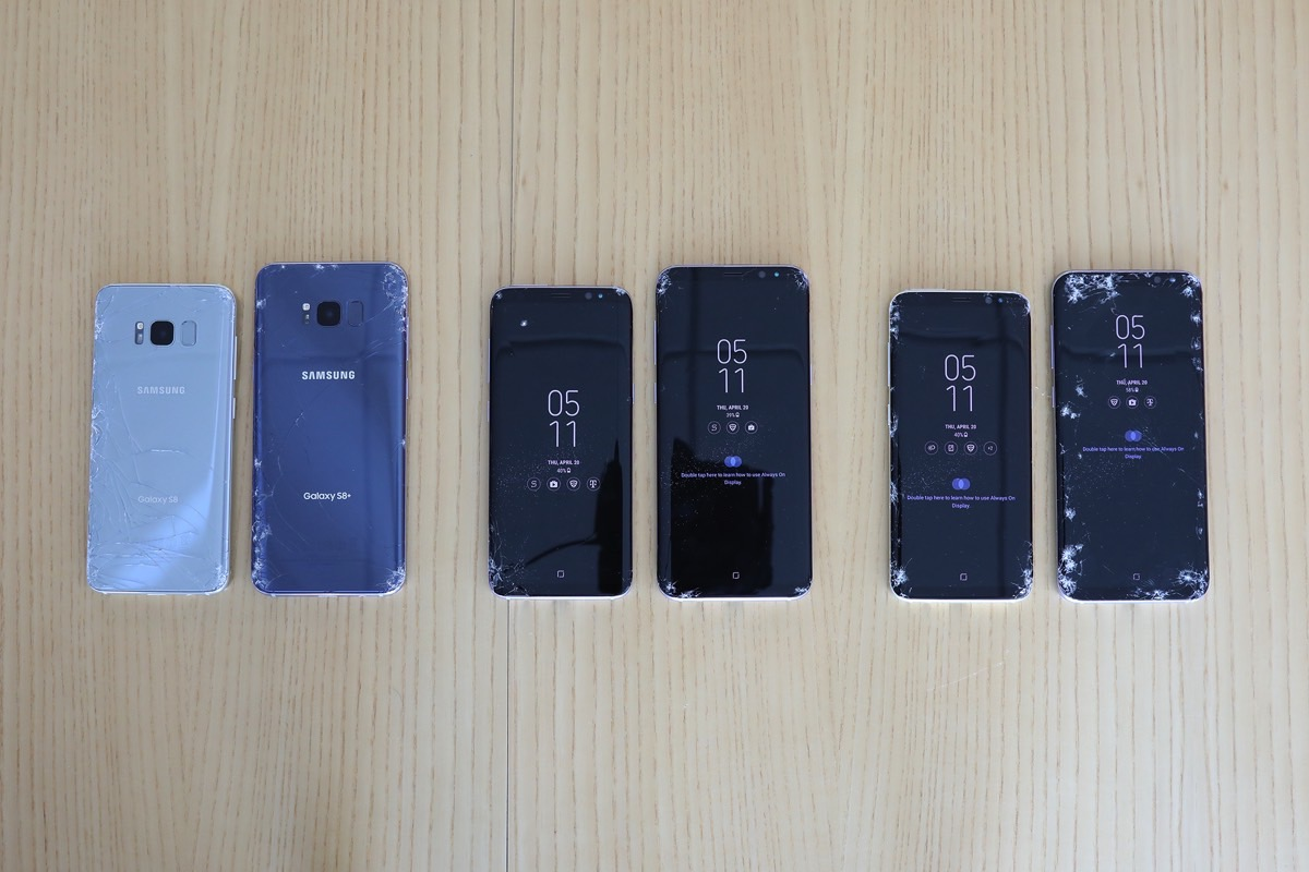 Galaxy S8 Drop Test Video SquareTrade