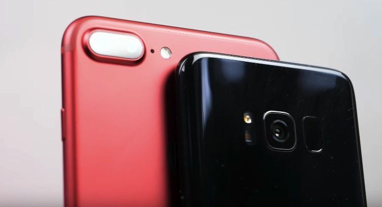 Galaxy S8 Vs iPhone 7 Plus