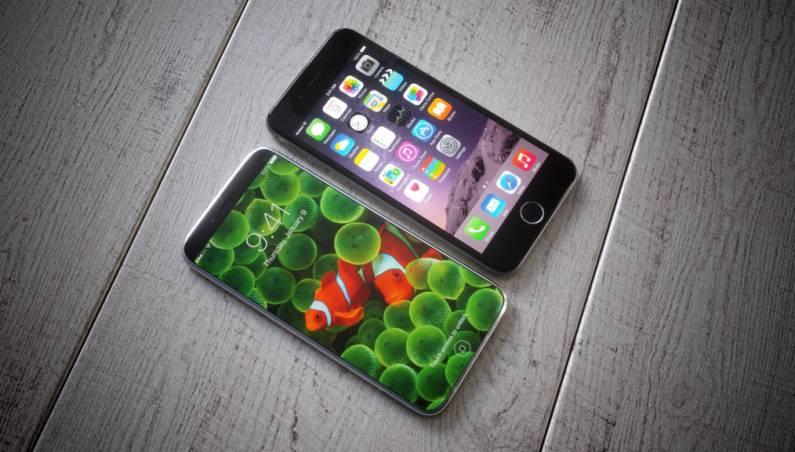 iPhone 8 vs. iPhone 7s Design Photos