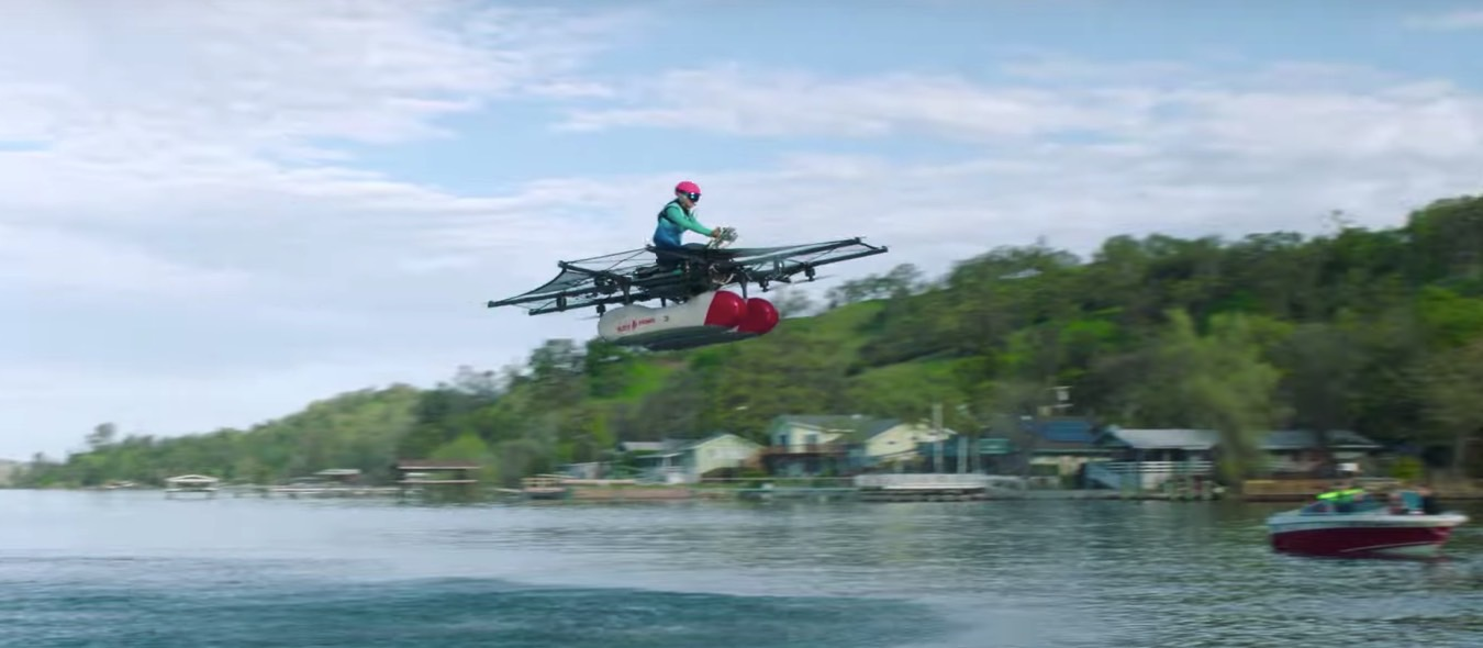 Larry Page's Kitty Hawk Flying Car