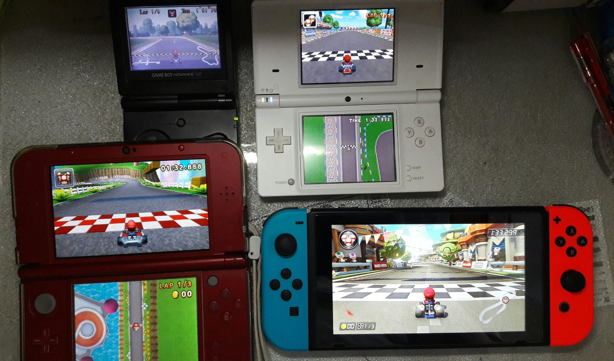 mario kart looks so much better on the switch bgr. Black Bedroom Furniture Sets. Home Design Ideas