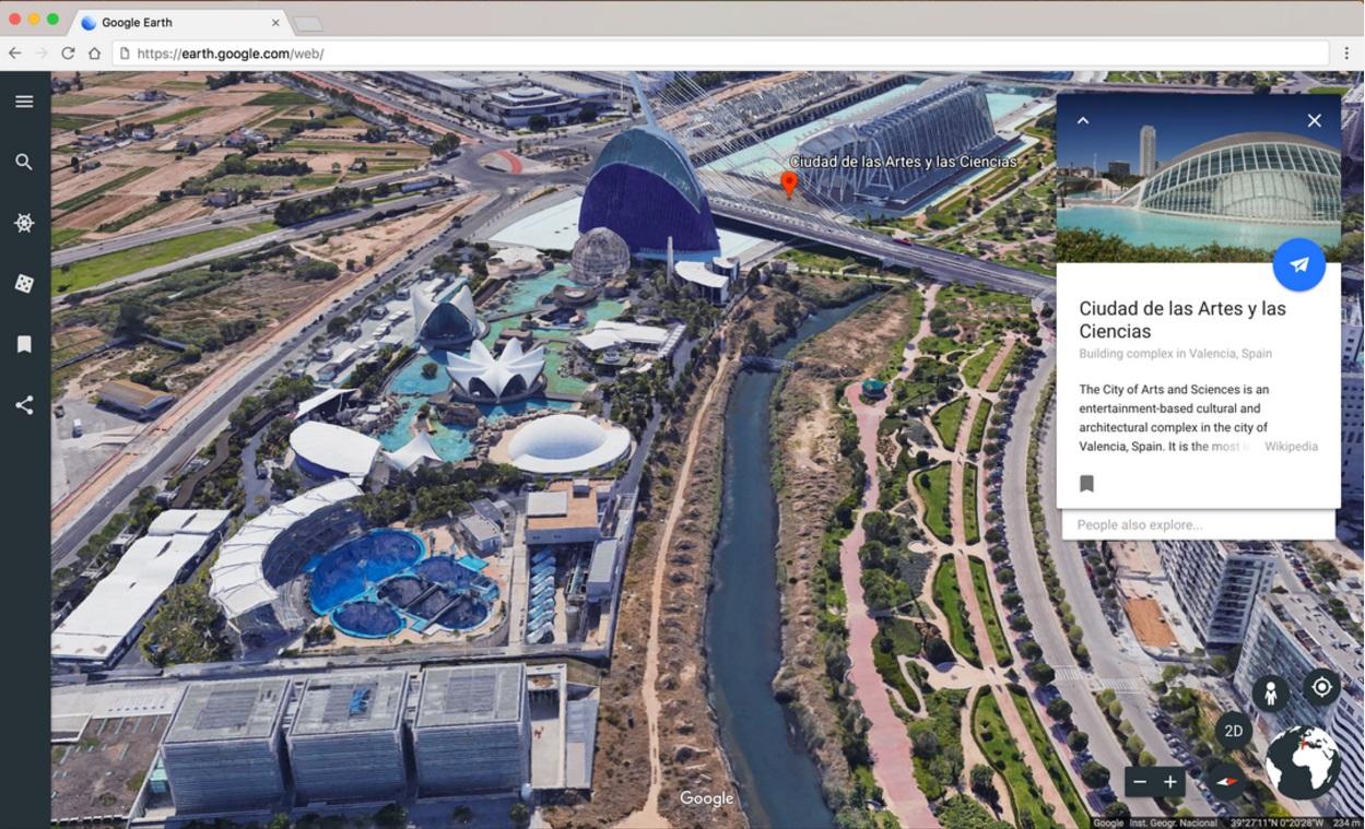 New Google Earth