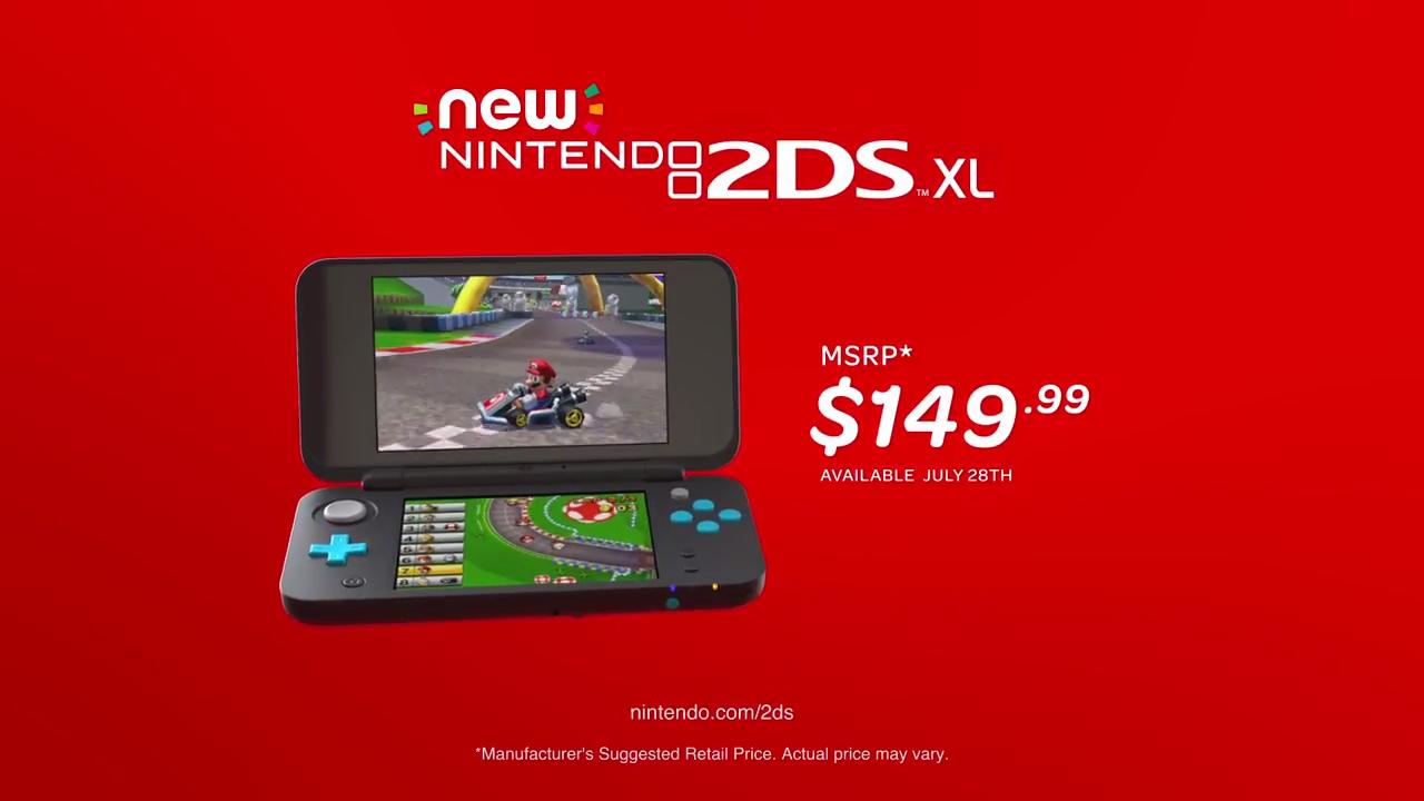 Nintendo's 2D XL is cheaper, but still pretty cool