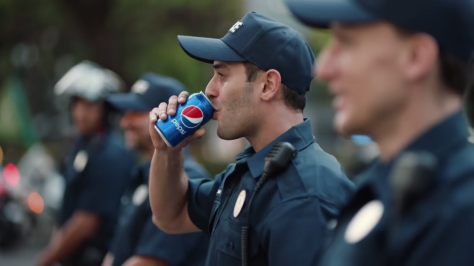 Pepsi ad starring Kendall Jenner