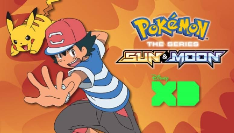 Pokemon Sun and Moon anime series