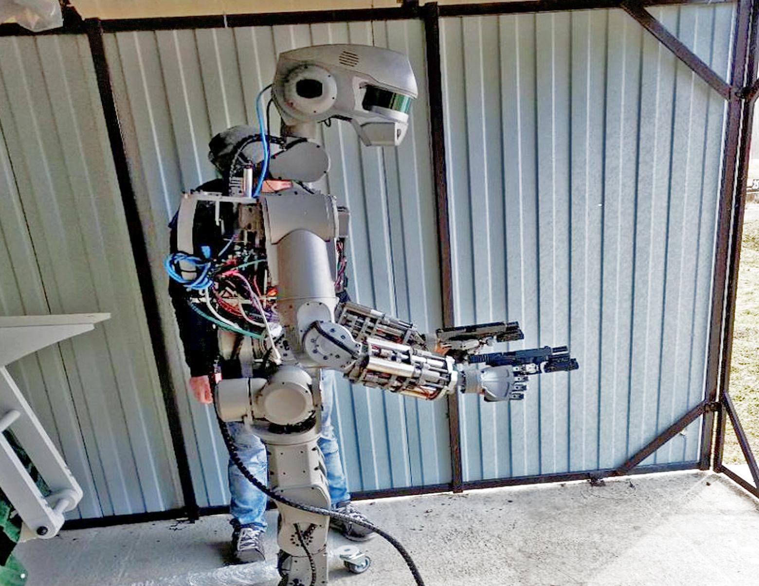 russian terminator robot