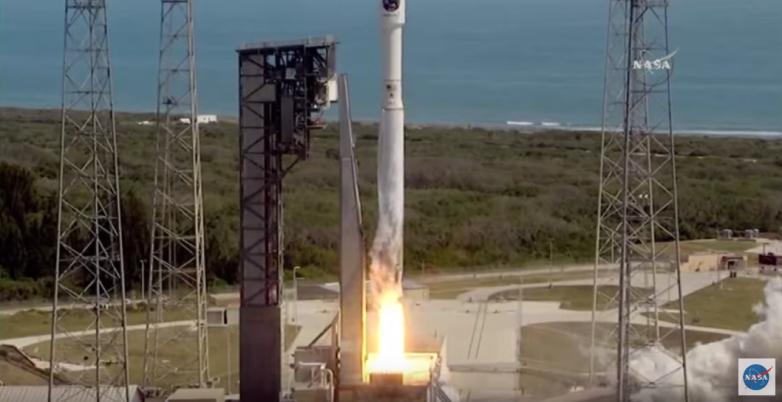 NASA rocket launch video VR
