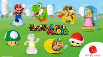 Nintendo: Mario Happy Meal toys