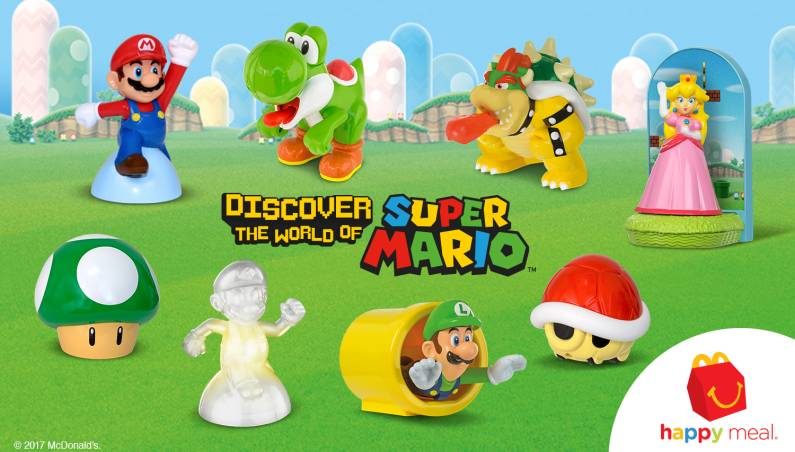 Nintendo: Mario Happy Meal toys
