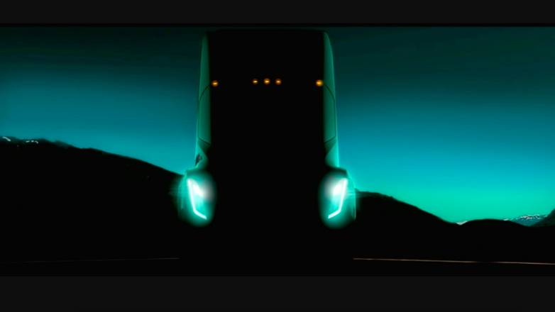 Tesla Semi Truck Event