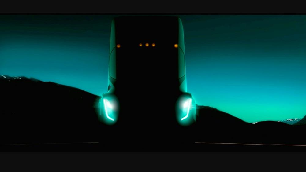 Tesla Semi Truck Event