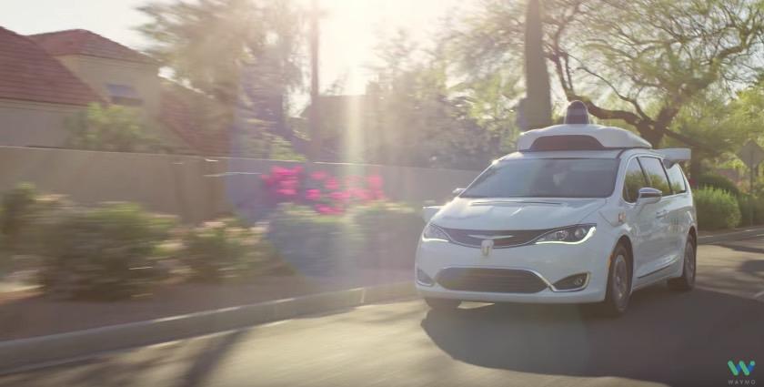 Waymo Self-Driving Car Public Test