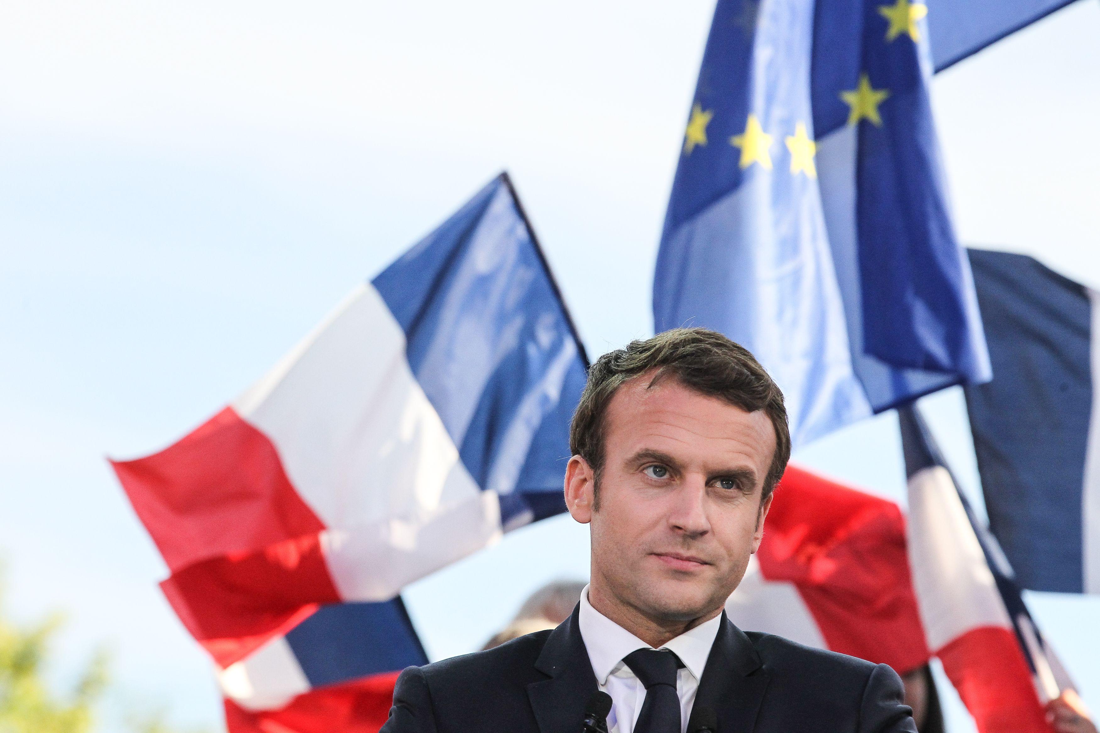 French election: Macron hack