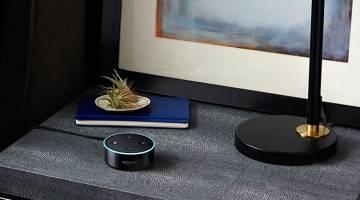 Amazon Echo Dot in Car