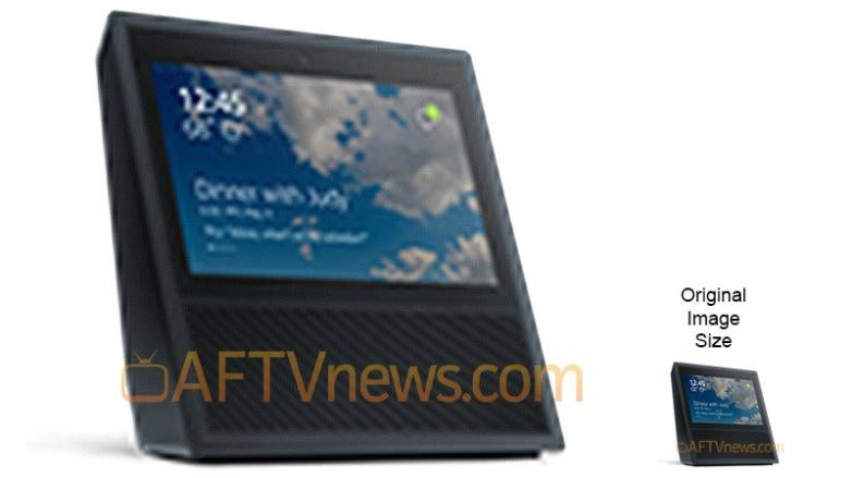Amazon Echo touchscreen device
